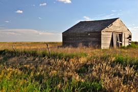old barn in field picture Road Trip from Big D to Left Coast