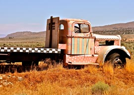 old truck photo multicolored Lassoing Photo Ops in Lassen County