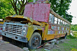 rural americana bus Solo expedition in Dixie proves rich in memories, keeper images