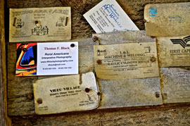 rural americana business cards Solo expedition in Dixie proves rich in memories, keeper images