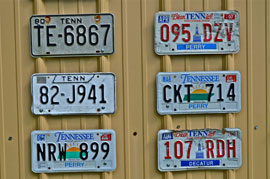rural americana license plates Solo expedition in Dixie proves rich in memories, keeper images