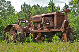 rural americana tractor Solo expedition in Dixie proves rich in memories, keeper images
