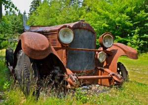 truck maine pic 300x213 Holiday in Maine yields serendipitous Rural Americana images