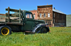 Truck At Bodie 300x198 OLD TRUCK PHOTOS FEATURED IN YOUTUBE VIDEO PROMOTING COUNTRY SONG